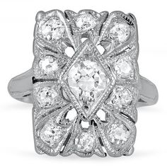 The Maleah Ring #BrilliantEarth #Vintage