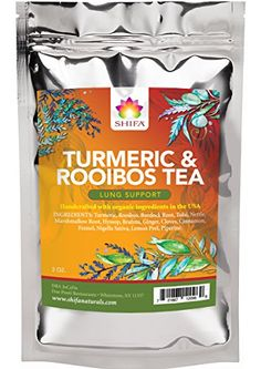 Shifa Lung Support Tea (Turmeric and Rooibos): Fortify an... https://www.amazon.com/dp/B01LX5OW7F/ref=cm_sw_r_pi_dp_x_0sd7yb04F33BR