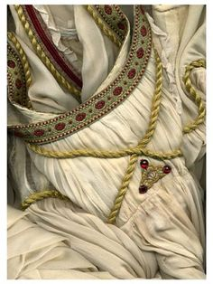 Juliet's costume from the Balcony scene. Designed by Alain Vaës after the original design by Henry Hermann Scenery by Alain Vaës Choreographed by Coho San Goth.