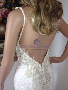 BR11-3 Inbal Dror, Lace Wedding, Wedding Dresses, Backless, Formal Dresses, Fashion, Formal Gowns, Moda, Bridal Dresses