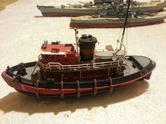 Airfix tug boat Tug Boats, Model Kits, Nautical, Boats, Navy Marine, Nautical Style, Nautical Theme
