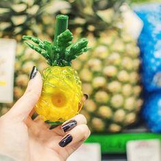 Fresh as a pineapple.