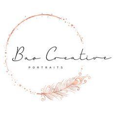 Bao Thao added a photo of their purchase Boutique Logo, Custom Logo Design, Custom Logos, Hex Color Codes, Lashes Logo, Photography Logos, Modern Photography, Floral Logo, Circle Logos