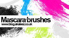 Mascara Stroke - Download  Photoshop brush http://www.123freebrushes.com/mascara-stroke/ , Published in #GrungeSplatter. More Free Grunge & Splatter Brushes, http://www.123freebrushes.com/free-brushes/grunge-splatter/ | #123freebrushes