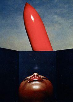 Vogue Paris Dior Cosmetics, 1972.    Ph. Guy Bourdin