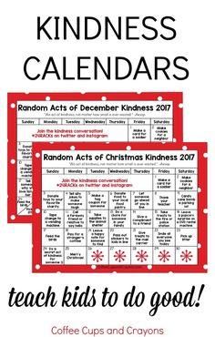 Random Acts of Christmas Kindness Advent Calendar ...
