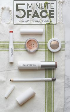 W3LL PEOPLE 5-Minute Face: Bronze Goddess - using beauty products that are all natural, vegan and cruelty free!