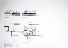 Axonometric projection of Rose Seidler House by Demas Rusli    Projections of Rose Seidler House by Demas Rusli  September