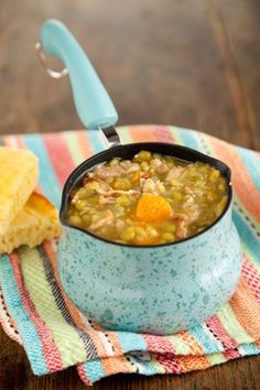 Check out what I found on the Paula Deen Network! Shaggy Man Split Pea Soup http://www.pauladeen.com/shaggy-man-split-pea-soup