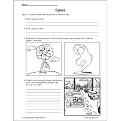 Worksheets Elements Of Art Worksheet art elements language and teaching on pinterest items by brand name mcdonald colossal concept posters seven of art
