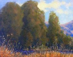 "California day by John Weiss Oil ~ 6"" x 8"""