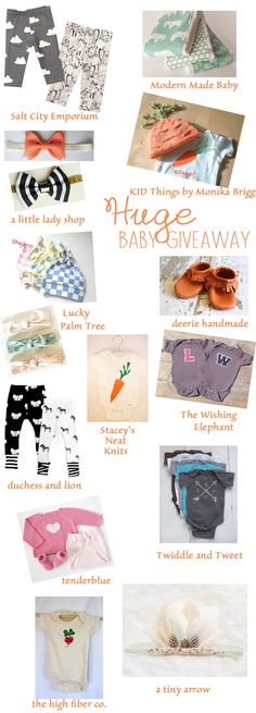 Huge Giveaway for Mom's to be...or in my case, those gifting to Mom's to be!!
