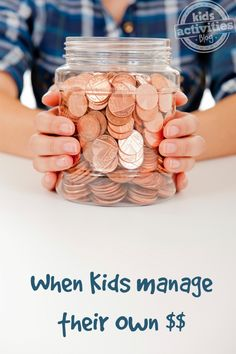 When Kids Manage Their Own Money - and when it goes bad!