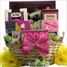 Easter gift basket for college student delightful easter itunes cool easter treats teen tween easter gift basket although they may say they are too cool for the easter bunny they are going to love all the negle Gallery