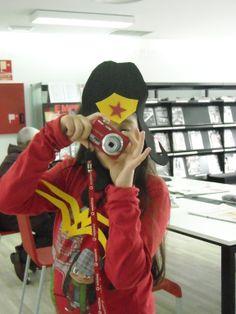 A nosa muller marabilla é unha gran fotógrafa (Saray)