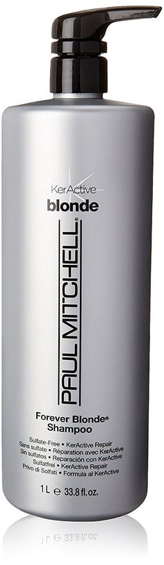 Paul Mitchell Forever Blonde Shampoo for Unisex, 33.8 Ounce * Find out more about the great product at the image link. (This is an affiliate link and I receive a commission for the sales)