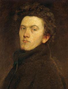 BERTALAN SZÉKELY (Kolozsvár 1835-Budapest 1910) Self-Portrait, 1860