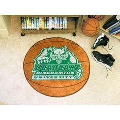 Binghamton Bearcats NCAA Basketball Round Floor Mat (29)