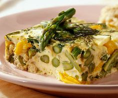 Treat your family to Sunday brunch when you mix up this 30-minute frittata. Cottage cheese supplies extra protein without adding excessive calories.