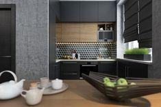 Проект студии площадью 40 кв.м. - Дизайн интерьеров   Идеи вашего дома   Lodgers