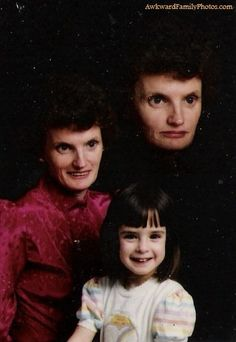 Top 38 des photos de famille super kitsch, et même carrément flippantes