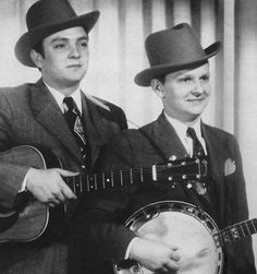 The Stanley Brothers Country Musicians, Country Music Artists, Country Music Stars, Stanley Brothers, Ralph Stanley, Bluegrass Music, Banjos, Irish Traditions, Hillbilly