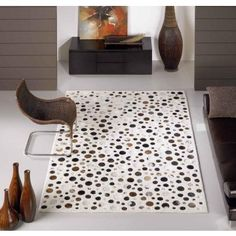 Alfombre Moderna Top White #Ambar #Muebles #Deco #Interiorismo #Alfombras   http://www.ambar-muebles.com/alfombra-moderna-top-white.html
