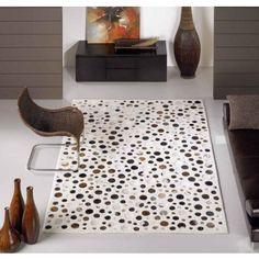 Alfombre Moderna Top White #Ambar #Muebles #Deco #Interiorismo #Alfombras | http://www.ambar-muebles.com/alfombra-moderna-top-white.html
