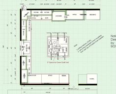 7 best images about prokitchen software floor plan 2 Barn Kitchen, Kitchen Floor Plans, Kitchen Ideas, Traditional Kitchen, Open Concept, Barn Wood, Software, Flooring, 3d