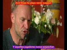 SUBTITULADA STING SHAPE OF MY HEART SUBTITULOS ESPAÑOL INGLES LEGENDADA LYRICS KARAOKE SUB - YouTube