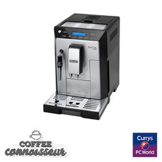 #PassionatePins - Delonghi Eletta - http://www.currys.co.uk/gbuk/household-appliances/small-kitchen-appliances/coffee-machines-and-accessories/espresso-capsule-machines/delonghi-eletta-cappuccino-top-ecam45-760w-espresso-machine-silver-black-10024651-pdt.html?cmpid=social~pinterest~i~ecska