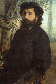 Portrait of Claude Monet Pierre Renoir Check more at http://artunframed.com/Gallery/shop/portrait-of-claude-monet/