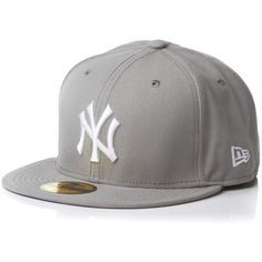 NEW ERA Cap MLB Basic Neyyan grey white (14 AUD) ❤ liked on Polyvore featuring accessories, hats, caps, snapbacks, gorros, mlb hats, mlb snapbacks, snapback hats, cap hats and gray hat