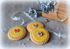 My little bakery :): Cookies for Vintage baby girl shower. Galletas Cookies, Baby Cookies, Flower Cookies, Baby Shower Cookies, Sugar Cookies, Double Dot, Cookie Time, Vintage Cookies, Cookie Decorating