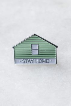 Stay Home (AF) Lapel Pin