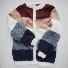 Endelig ferdig med sorbetcardigan, den e jo fantastisk mjuk og god😍 #sorbetcardigan #knittingforolive #softsilkmohair #tynnsilkmohair… Sorbet, Knit Crochet, Cute Outfits, Pullover, Boho, Sewing, Knitting, Hygge, My Style