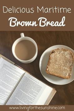Delicious Maritime Brown Bread Recipe for the Bread Maker - Living For the Sunshine Artisan Bread Recipes, Bread Maker Recipes, Brown Bread Recipe, Molasses Bread, Homemade Dinner Rolls, Canadian Food, Our Daily Bread, Man Food, Oatmeal Recipes