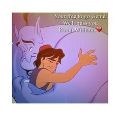RIP Robin Williams (1951-2014): Aladdin