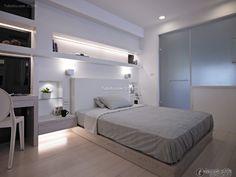 Simple 6 square meters modern bedroom 2015