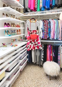 A MASTER CLOSET MAKEOVER FIT FOR A FASHIONISTA