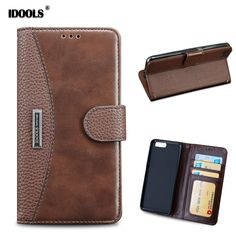 Phone Bags Cases For Xiaomi MI6 Cover Dirt Resistant PU Leather Flip Card Holder 5.15 Inch Wallet Case For Xiaomi Mi 6 Fundas #Affiliate