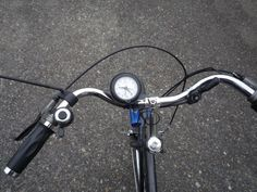 #howto put a clock on your bike.
