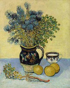 Vincent van Gogh. Still Life 1888 http://stilllifequickheart.tumblr.com/tagged/still+life/page/57