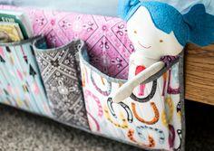 Pinterest UnTutorial Solved: Bedside Storage Pockets
