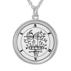 AZRAIL Ritual Talisman Sterling Silver Necklace