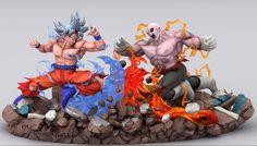 Goku vs Jiren. Gente eu ainda tô assistindo DBS, tô vendo os eps do Black ainda, pela Cartoon Network, mas já vi um monte de spoilers pelo YT kkkkkk Dragon Ball Z, Cartoon Network, Goku Vs Jiren, Rasengan Vs Chidori, Manga Dragon, Anime Figurines, Anime Merchandise, Otaku, Art Model