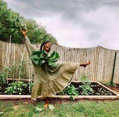 Growing Gardens, Farm Gardens, Black Girl Aesthetic, Pink Houses, Farm Life, Mother Earth, Black Girls, Black Women, Garden Inspiration