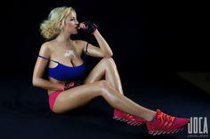 Jordan Carver preview of her set Sporty.