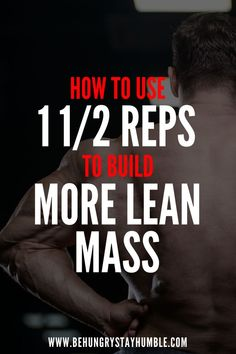 Many guys will just speed through their reps and workouts in the gym and then wonder why they aren't gaining muscle. Check out this article to learn a fantastic technique for building muscle and gaining lean mass. This weight training technique is not eas Muscle Mass, Gain Muscle, Build Muscle, Muscle Building Meal Plan, Muscle Building Workouts, Weight Training, Training Tips, Fitness Tips, Workout Fitness
