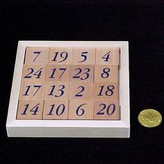 """""""To arrange the 16 tiles in a square so that all lines of four in vertical, horizontal and diagonal directions add up to 50 on both sides at the same time! In the best solutions there are 112 ways of identifying groups of four which add up to Magic Squares, Tiles, Room Tiles, Tile, Backsplash"""